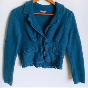 Apt. 9 Feminine Teal Sweater